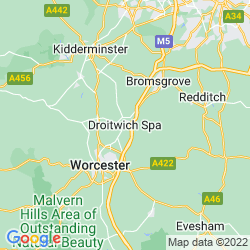 Map of Droitwich