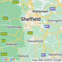 Map of Dronfield