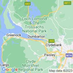 Map of Dunbarton