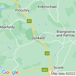 Map of Dunkeld