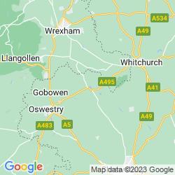 Map of Ellesmere