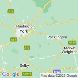 Map of Elvington