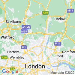 Map of Enfield