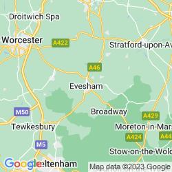 Map of Evesham