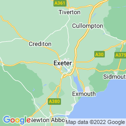 Map of Exeter