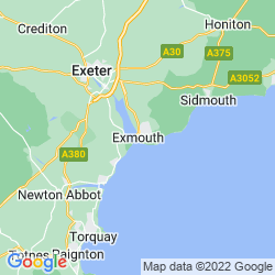 Map of Exmouth
