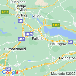 Map of Falkirk