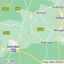 Map of Faringdon