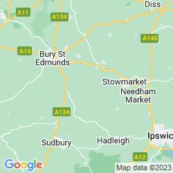Map of Felsham