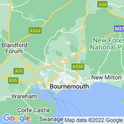 Map of Ferndown