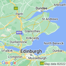 Map of Fife