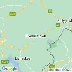 Map of Fivemiletown