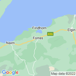 Map of Forres
