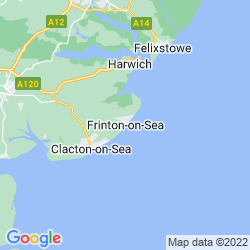 Map of Frinton-on-Sea