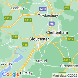 Map of Gloucester