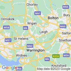 Map of Golborne