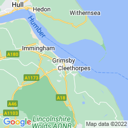 Map of Grimsby