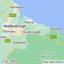 Map of Guisborough