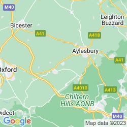 Map of Haddenham