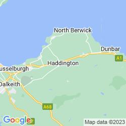 Map of Haddington