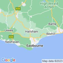 Map of Hailsham