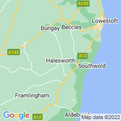 Map of Halesworth