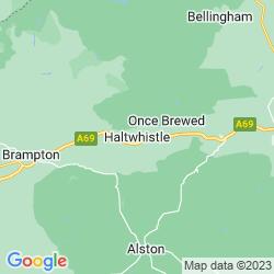 Map of Haltwhistle