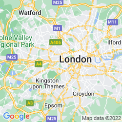 Map of Hammersmith