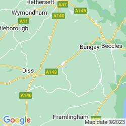 Map of Harleston