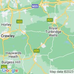 Map of Hartfield
