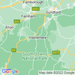 Map of Haslemere