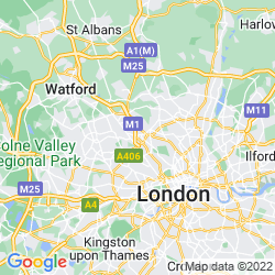 Map of Hendon