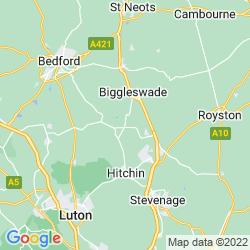 Map of Henlow