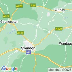 Map of Highworth