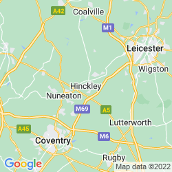 Map of Hinckley