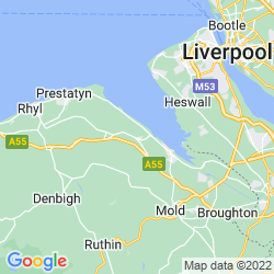 Map of Holywell