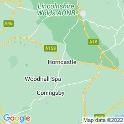 Map of Horncastle
