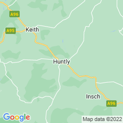 Map of Huntly