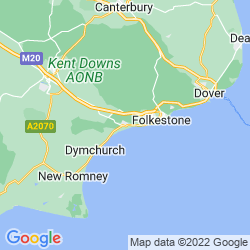 Map of Hythe