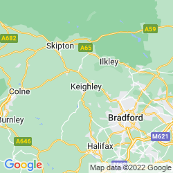 Map of Keighley