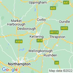 Map of Kettering