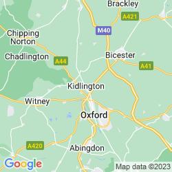 Map of Kidlington