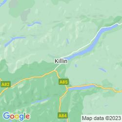 Map of Killin