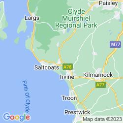 Map of Kilwinning