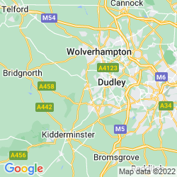 Map of Kingswinford