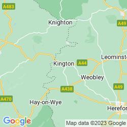 Map of Kington