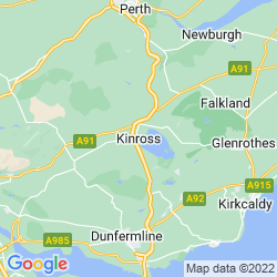 Map of Kinross
