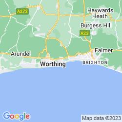 Map of Lancing