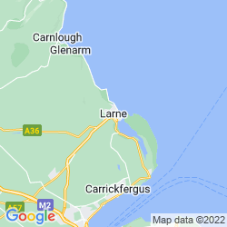 Map of Larne