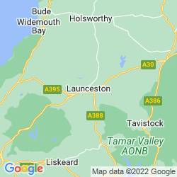 Map of Launceston